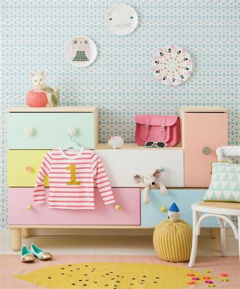 Kinderzimmer Cool Gestalten by Kinderzimmer Skandinavisch Stil Pastellfarben Kommode