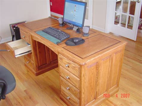 desk plans woodworking talk woodworkers forum