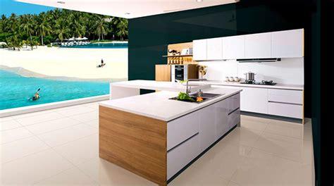 cuisine ikea blanche sans poignee cuisine en image