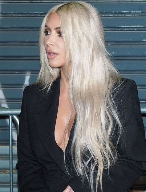 Best 25 Kim K Blonde Ideas On Pinterest Kim K 2014