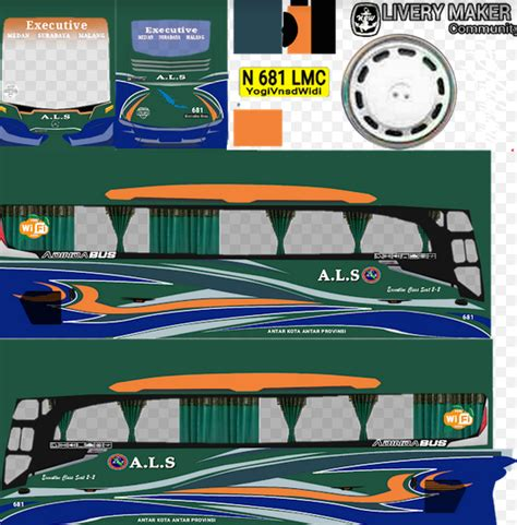 livery bussid hd  shd indonesia terbaru kualitas png terbaik jembercyber
