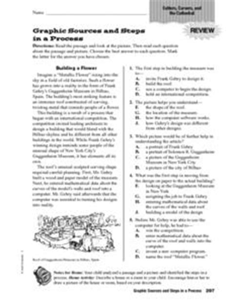 Graphic Sources And Steps In A Process 4th  6th Grade Worksheet  Lesson Planet