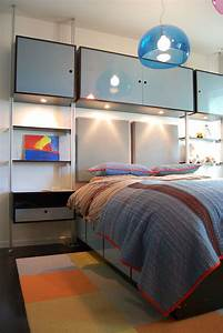 11, Year, Old, Boys, Custom, Bedroom, Design, Including, Modular, Storage, Units, U0026, Beds, Color, Selected, By