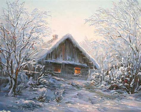 Winter Cottage Winter Snowflake S Cottage