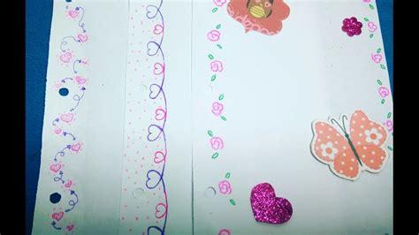 Decoración de pascua con huevos pintados a mano. Márgenes para tus cuadernos/ Día del amor y la amistad ...