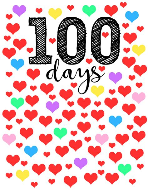 100 Days Of School  Free Download  Nekaro & Co