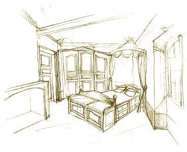 dessin d une chambre croquis esquisse dessin d 39 une chambre