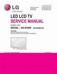 Manual De Servi U00e7o Tv Lg 32ls3400 Da Chassis Lt21c By