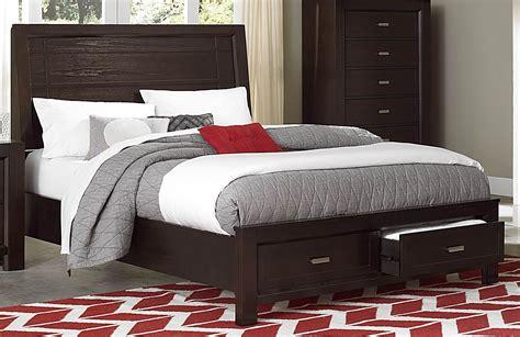 Breese Cal. King Platform Storage Bed From Homelegance