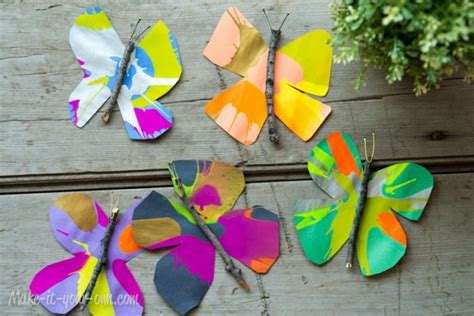 35 butterfly crafts ted s 487 | Butterflies2 600x400