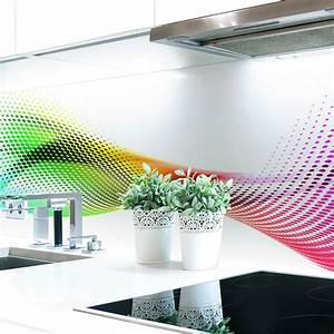 Küchenrückwand Hart Pvc : k chenr ckwand abstrakt regenbogen premium hart pvc 0 4 mm selbstklebend direkt auf die ~ Orissabook.com Haus und Dekorationen