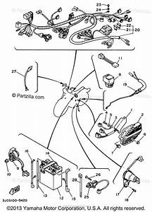 Yamaha Motorcycle 1996 Oem Parts Diagram For Electrical