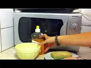 Nettoyer Micro Onde Citron : tuto comment nettoyer une ponge ponge propre gr ce ~ Melissatoandfro.com Idées de Décoration
