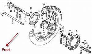 99 Sportster Rear Wheel Spacer Diagram