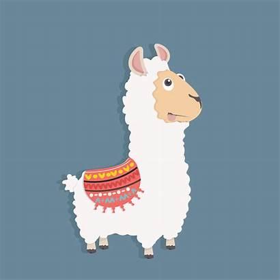 Alpaca Funny Fluffy Sveglia Lanuginosa Alpaga Divertente