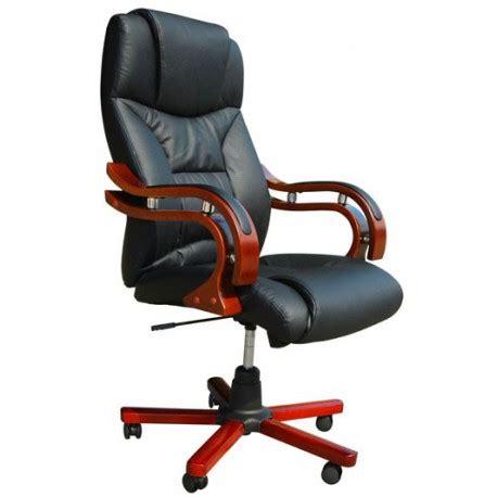fauteuil bureau en cuir fauteuil de bureau design en cuir noir en promotion pas cher