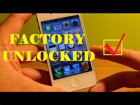 how to tell if iphone is unlocked how to tell if iphone is factory unlocked 3g 3gs 4 4s 5