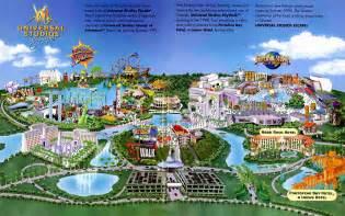 Universal Studios Orlando Florida Map
