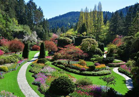 Gardens Bc - the butchart gardens canada wooden jigsaw