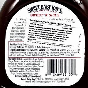 Bbq Sauce Nutrition Label – Nutrition Ftempo