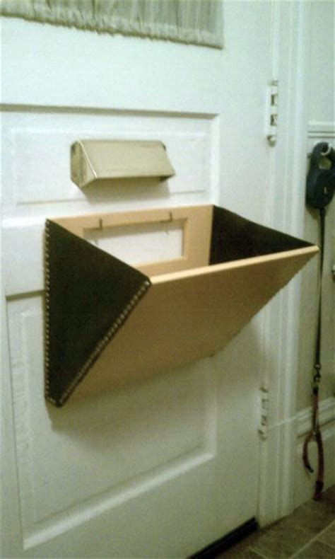 door mail slot mail slot catcher pouch basket box thingeemabob by 3429