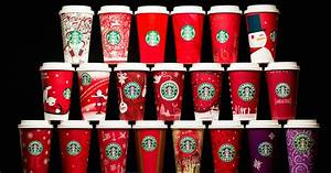 Starbucks 20 Years Holiday Cups
