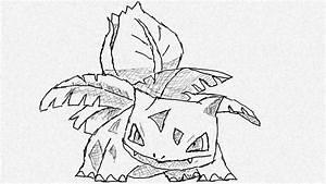 drawing Ivysaur pokemon # 002 - YouTube