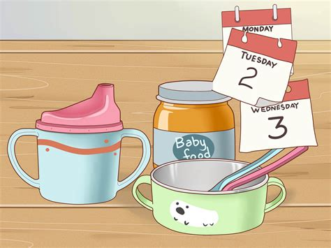 3 Ways To Wean A Baby From Breastfeeding Wikihow