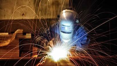 Welding Wallpapers Workers Sparks Helmet Gray Wallpapertag