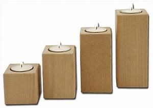Kerzenständer Holz Groß : holz kerzenst nder einzel mittelgross ~ Eleganceandgraceweddings.com Haus und Dekorationen