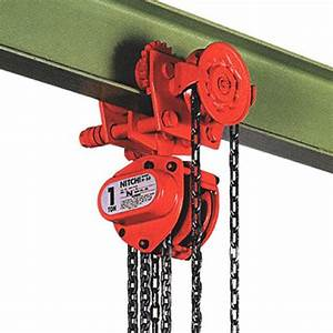 Nitchi Hgb50a Combined Manual Chain Hoist With Geared