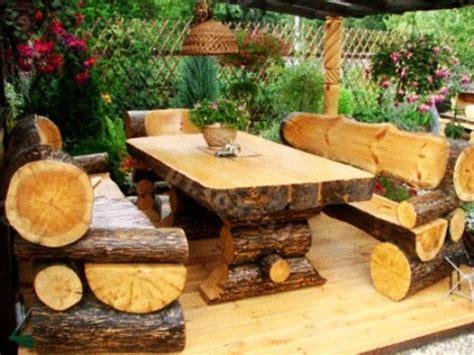 logs furniture and decorative accessories 16 diy home