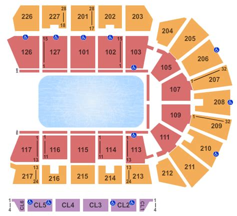 foto de Stockton Arena Seating Chart Stockton