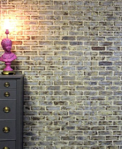 diy faux  real exposed brick walls shelterness