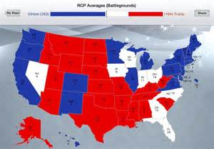 2016 Electoral College Map