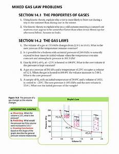 Mixed Gas Law Problems