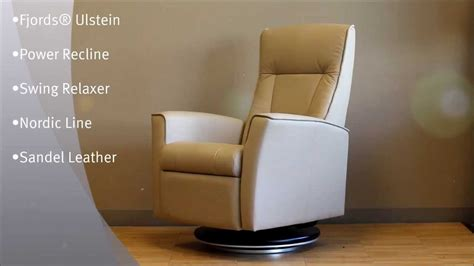 Fjord Ulstein by Fjords Ulstein Power Swing Recliner Relaxer Chair Nordic