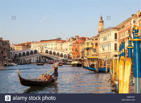 Venice Italy Gondola Ride Stock Photos And Venice Italy