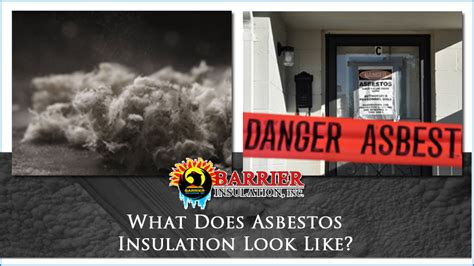 asbestos insulation   barrier