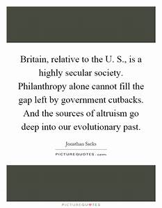 Evolutionary Qu... Secular Society Quotes