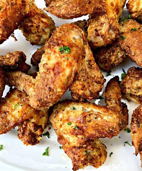 chicken fried fryer air buttermilk southern easy recipe food soul wings crispy tips
