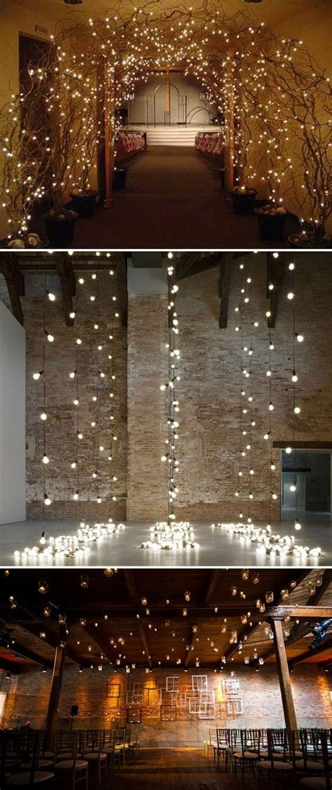 things you can do with leds the amazing things you can do with lights wedding ideassss cosas de boda boda industrial