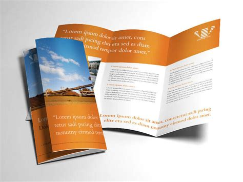 Free Adobe Brochure Templates by Brochure Template For Indesign Indesign Brochure Templates