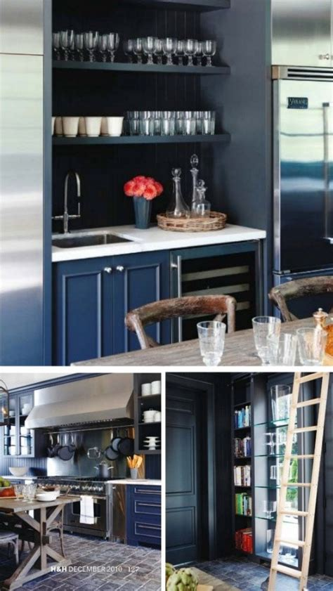 painted black cabinets  white cabinet  open