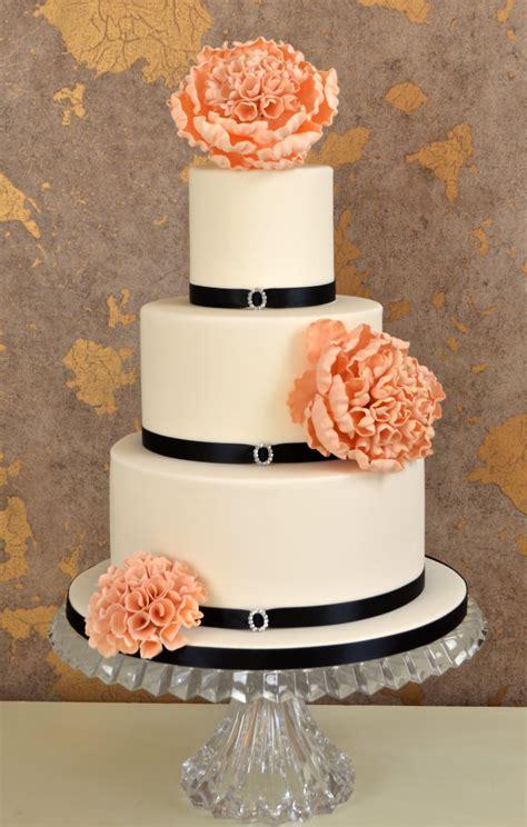 Black And White Wedding Cakes A Wedding Cake Blog