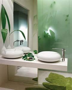 Y Et W : 5 id es pour une salle de bain zen woodeco ~ Medecine-chirurgie-esthetiques.com Avis de Voitures