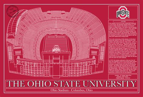 osu colors ohio state ohio stadium in school colors