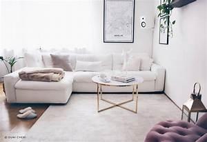 Wohnzimmer Scandi Style : interior wohnzimmer im scandi chic stil wohnideen ~ Frokenaadalensverden.com Haus und Dekorationen
