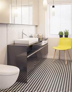 Sol Salle De Bain : salle de bains 15 sols qui font la diff rence elle ~ Dailycaller-alerts.com Idées de Décoration