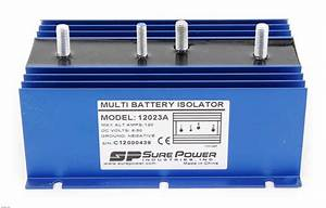 Two Battery Universal Isolator